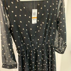 Bar lol Black and cream polka dot Dress